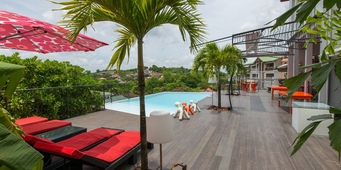 La suite villa calliope travel for Boutique hotel martinique